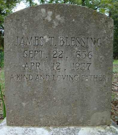 BLESSING, JAMES T. - Faulkner County, Arkansas | JAMES T. BLESSING - Arkansas Gravestone Photos