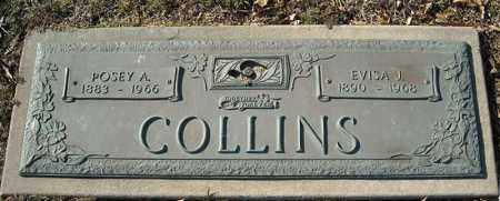 COLLINS, EVISA J. - Faulkner County, Arkansas | EVISA J. COLLINS - Arkansas Gravestone Photos