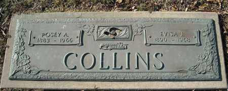 COLLINS, POSEY A. - Faulkner County, Arkansas | POSEY A. COLLINS - Arkansas Gravestone Photos