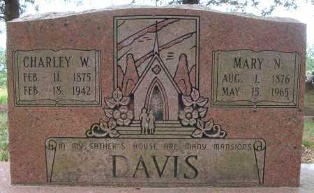 DAVIS, MARY N. - Faulkner County, Arkansas | MARY N. DAVIS - Arkansas Gravestone Photos