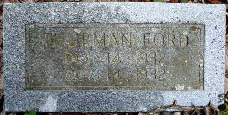 FORD, THURMAN - Faulkner County, Arkansas | THURMAN FORD - Arkansas Gravestone Photos