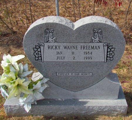 FREEMAN, RICKY WAYNE - Faulkner County, Arkansas | RICKY WAYNE FREEMAN - Arkansas Gravestone Photos