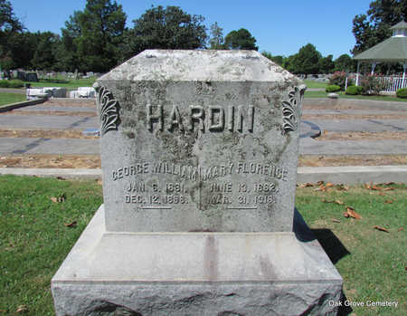 HARDIN, MARY FLORENCE (TWIN) - Faulkner County, Arkansas | MARY FLORENCE (TWIN) HARDIN - Arkansas Gravestone Photos