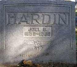 HARDIN, JOEL B. - Faulkner County, Arkansas   JOEL B. HARDIN - Arkansas Gravestone Photos