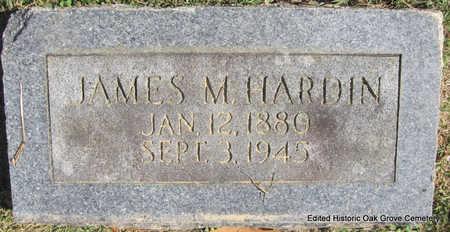 HARDIN, JAMES M. - Faulkner County, Arkansas | JAMES M. HARDIN - Arkansas Gravestone Photos