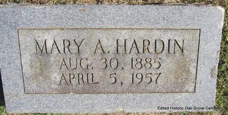 HARDIN, MARY A. - Faulkner County, Arkansas   MARY A. HARDIN - Arkansas Gravestone Photos