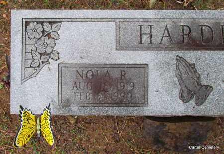 HARDIN, NOLA R. (CLOSE UP) - Faulkner County, Arkansas | NOLA R. (CLOSE UP) HARDIN - Arkansas Gravestone Photos