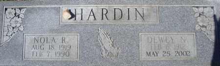 HARDIN, NOLA R. - Faulkner County, Arkansas   NOLA R. HARDIN - Arkansas Gravestone Photos