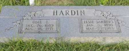 HARDIN, OBIE I - Faulkner County, Arkansas | OBIE I HARDIN - Arkansas Gravestone Photos