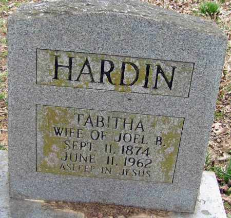HARDIN, TABITHA JANE - Faulkner County, Arkansas   TABITHA JANE HARDIN - Arkansas Gravestone Photos