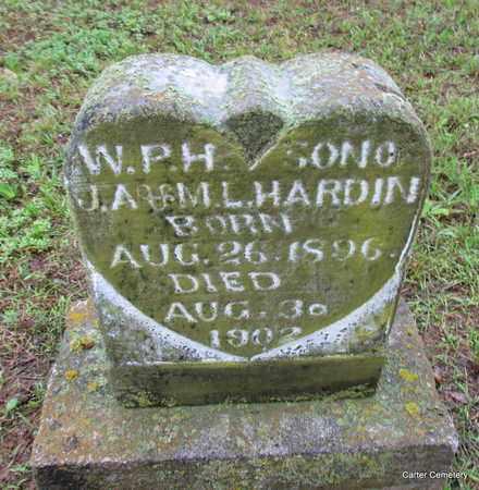 HARDIN, W P H - Faulkner County, Arkansas   W P H HARDIN - Arkansas Gravestone Photos