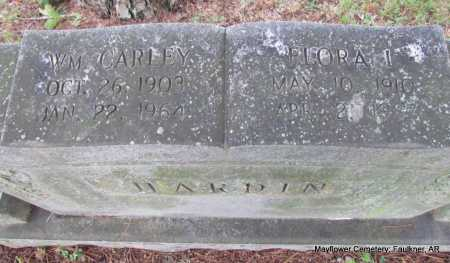 HARDIN, WM CARLEY - Faulkner County, Arkansas   WM CARLEY HARDIN - Arkansas Gravestone Photos