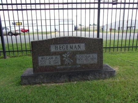 HEGEMAN, WILLIAM H - Faulkner County, Arkansas | WILLIAM H HEGEMAN - Arkansas Gravestone Photos