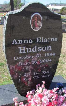 HUDSON, ANNA ELAINE - Faulkner County, Arkansas | ANNA ELAINE HUDSON - Arkansas Gravestone Photos