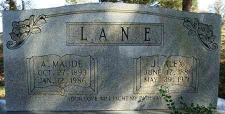 LANE, A. MAUDE - Faulkner County, Arkansas | A. MAUDE LANE - Arkansas Gravestone Photos