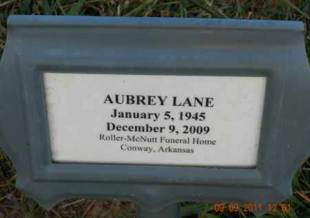 """LANE, AUBREY LINN """"SLIM"""" - Faulkner County, Arkansas   AUBREY LINN """"SLIM"""" LANE - Arkansas Gravestone Photos"""