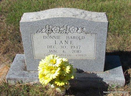 LANE, DONNIE HAROLD - Faulkner County, Arkansas | DONNIE HAROLD LANE - Arkansas Gravestone Photos