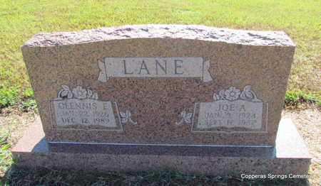 LANE, JOE A. - Faulkner County, Arkansas | JOE A. LANE - Arkansas Gravestone Photos