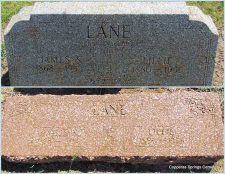 LANE, JAMES S. - Faulkner County, Arkansas | JAMES S. LANE - Arkansas Gravestone Photos