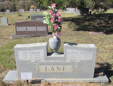 LANE, HARVEY HAROLD - Faulkner County, Arkansas | HARVEY HAROLD LANE - Arkansas Gravestone Photos