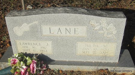 LANE, HILDA MAE - Faulkner County, Arkansas | HILDA MAE LANE - Arkansas Gravestone Photos