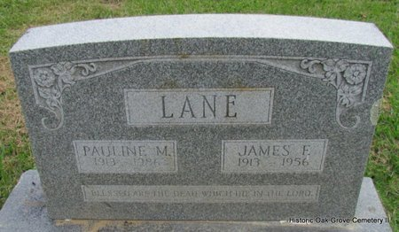 LANE, PAULINE - Faulkner County, Arkansas | PAULINE LANE - Arkansas Gravestone Photos