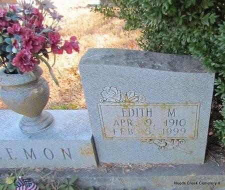 LEMON, EDITH M. (CLOSEUP) - Faulkner County, Arkansas | EDITH M. (CLOSEUP) LEMON - Arkansas Gravestone Photos