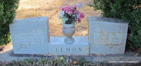 LEMON, EDITH M. - Faulkner County, Arkansas | EDITH M. LEMON - Arkansas Gravestone Photos