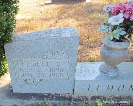 LEMON, FREDERIC G. (CLOSEUP) - Faulkner County, Arkansas | FREDERIC G. (CLOSEUP) LEMON - Arkansas Gravestone Photos