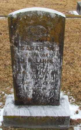LUKE, SARAH MARGARET - Faulkner County, Arkansas   SARAH MARGARET LUKE - Arkansas Gravestone Photos