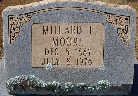 MOORE, MILLARD F. - Faulkner County, Arkansas | MILLARD F. MOORE - Arkansas Gravestone Photos