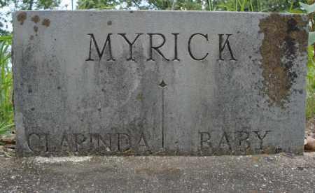MYRICK, BABY - Faulkner County, Arkansas | BABY MYRICK - Arkansas Gravestone Photos