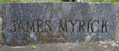 MYRICK, JAMES - Faulkner County, Arkansas | JAMES MYRICK - Arkansas Gravestone Photos