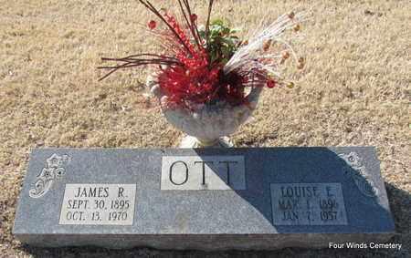SCHEIBEL OTT, LOUISE E. - Faulkner County, Arkansas | LOUISE E. SCHEIBEL OTT - Arkansas Gravestone Photos