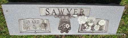 SAWYER, EDWARD F. - Faulkner County, Arkansas | EDWARD F. SAWYER - Arkansas Gravestone Photos