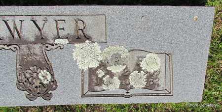 SAWYER, MARY EVA (CLOSE UP) - Faulkner County, Arkansas | MARY EVA (CLOSE UP) SAWYER - Arkansas Gravestone Photos
