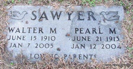 SAWYER, WALTER M. - Faulkner County, Arkansas | WALTER M. SAWYER - Arkansas Gravestone Photos