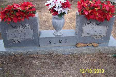 SIMS, OLA E. - Faulkner County, Arkansas | OLA E. SIMS - Arkansas Gravestone Photos