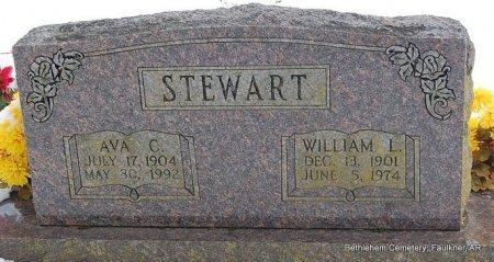 STEWART, WILLIAM LESTER - Faulkner County, Arkansas | WILLIAM LESTER STEWART - Arkansas Gravestone Photos