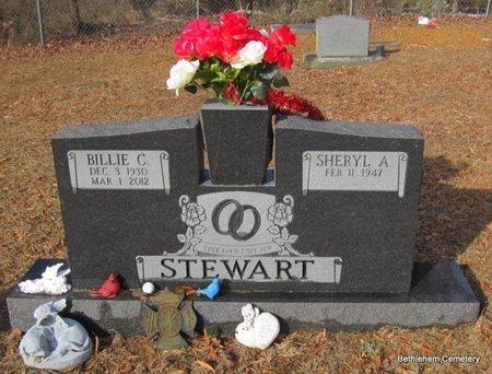 STEWART, BILLIE C - Faulkner County, Arkansas | BILLIE C STEWART - Arkansas Gravestone Photos