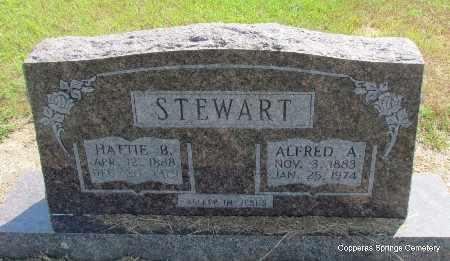 STEWART, ALFRED A. - Faulkner County, Arkansas | ALFRED A. STEWART - Arkansas Gravestone Photos