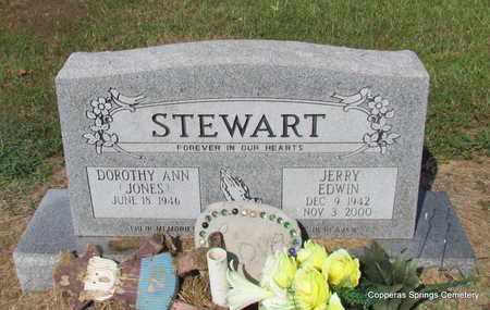 STEWART, JERRY EDWIN - Faulkner County, Arkansas | JERRY EDWIN STEWART - Arkansas Gravestone Photos