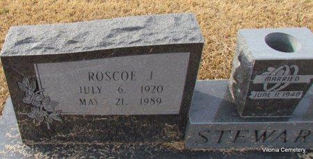 STEWART, ROSCOE J (CLOSE UP) - Faulkner County, Arkansas | ROSCOE J (CLOSE UP) STEWART - Arkansas Gravestone Photos
