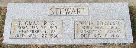 STEWART, THOMAS RUSH - Faulkner County, Arkansas | THOMAS RUSH STEWART - Arkansas Gravestone Photos