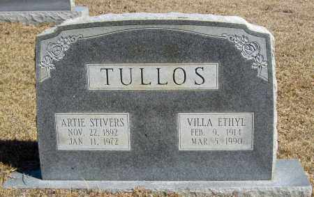 TULLOS, VILLA ETHYL - Faulkner County, Arkansas | VILLA ETHYL TULLOS - Arkansas Gravestone Photos