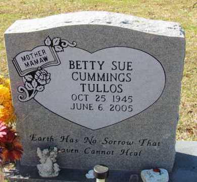 TULLOS, BETTY SUE - Faulkner County, Arkansas | BETTY SUE TULLOS - Arkansas Gravestone Photos