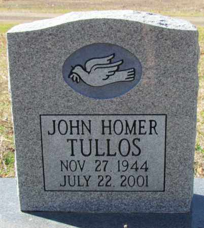 TULLOS, JOHN HOMER - Faulkner County, Arkansas | JOHN HOMER TULLOS - Arkansas Gravestone Photos