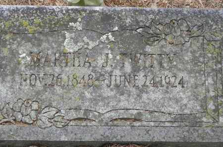 TWITTY, MARTHA J. - Faulkner County, Arkansas | MARTHA J. TWITTY - Arkansas Gravestone Photos