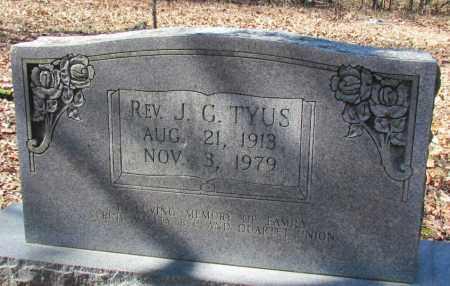 TYUS, J G, REV - Faulkner County, Arkansas | J G, REV TYUS - Arkansas Gravestone Photos