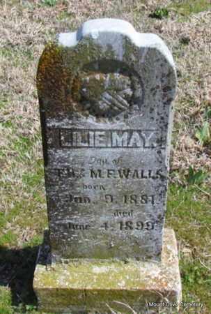 WALLS, LILIE MAY - Faulkner County, Arkansas   LILIE MAY WALLS - Arkansas Gravestone Photos